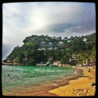 Photo taken at Diniwid Beach by Евгения Г. on 1/5/2013
