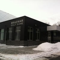 Photo taken at Braemar Golf Dome by Bob L. on 1/24/2014