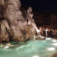 Photo taken at Piazza Navona by Kostis F. on 7/27/2013