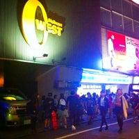 Photo taken at TSUTAYA O-WEST by Milk C. on 9/28/2012