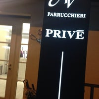 Photo taken at privè parrucchiere by Alessandra C. on 2/19/2014