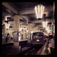 Photo taken at Midosuji Line Tennoji Station (M23) by kusakabe on 9/25/2013