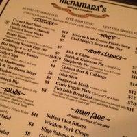 Photo taken at McNamara's Irish Pub by Gavin R. on 1/5/2013