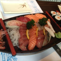 Photo taken at Sushi by Наташа Л. on 6/28/2013