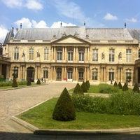 Photo taken at Archives Nationales by Arnaud D. on 7/18/2013