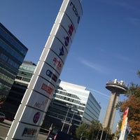 Photo taken at RTBF by JF F. on 10/23/2012