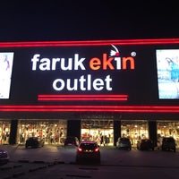 Photo taken at faruk ekin outlet by Mustafa Umut K. on 9/24/2017