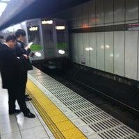 Photo taken at Shinjuku Line Shinjuku Station (S01) by COIDY on 11/22/2012