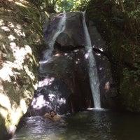 Photo taken at Poring Kipungit Waterfall by Ellysz X. on 5/10/2017