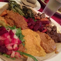 Photo taken at Abyssinia Ethiopian & Eritrean Restaurant by Kyle R. on 5/28/2013