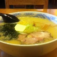 Photo taken at 札幌らーめんみそNo.1 by tyzo on 1/13/2013