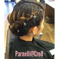 Photo taken at Cre8 Salon & Spa by Parnelli G. on 11/2/2014