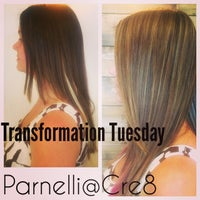 Photo taken at Cre8 Salon & Spa by Parnelli G. on 10/1/2014
