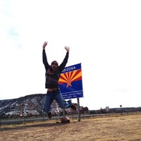 Photo taken at Arizona/New Mexico State Line by David W. on 2/19/2013