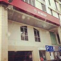 Photo taken at Bangunan KWSP by Ammar Z. on 12/17/2012