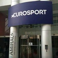 Photo taken at Eurosport by Gür K. on 2/13/2016