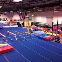 Photo taken at Alamo Heights Gymnastics Academy by Roger H. on 1/22/2013