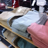Photo taken at UNIQLO (优衣库) by Aurelie L. on 12/19/2012