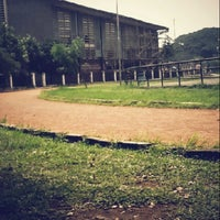 Photo taken at Saparua Running Track by Fellicia M. on 4/27/2013