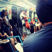 Photo taken at MetrôRio - Estação Central by Bruno M. on 3/19/2014
