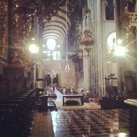 Photo taken at Catedral de Santiago de Compostela by picoesquina on 6/28/2013