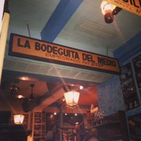 Photo taken at La Bodeguita Del Medio by picoesquina on 11/1/2013