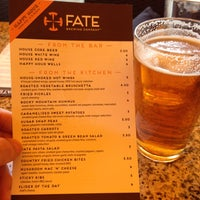 Photo taken at FATE Brewing Company by Brian W. on 6/21/2013