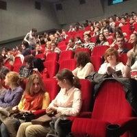 Снимок сделан в Кинотеатр «Украина» пользователем Inna B. 4/19/2013