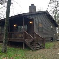 Photo taken at Bear Hug Cabin by Amanda T. on 3/22/2013