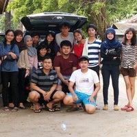 Photo taken at Pantai Ujung Genteng by Rezky K. on 8/11/2013