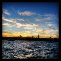 Photo taken at Besiktas - Uskudar Boat by Arzu E. on 9/9/2013