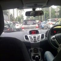 Photo taken at Jalan Metro Pondok Indah by Nadela A. on 1/19/2013