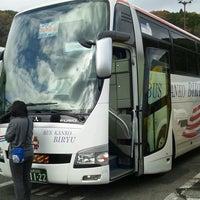 Photo taken at Mobil 国見SA上り線SS by Yuko on 11/20/2013