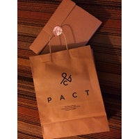 Photo taken at Pact by Jono T. on 1/10/2014