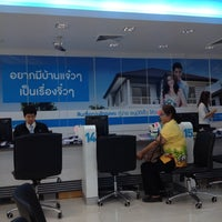 Photo taken at ธนาคารกรุงไทย สาขามะลิวัลย์ by Iamtuii S. on 2/26/2014