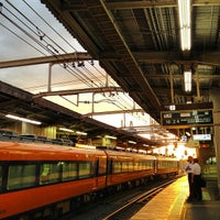 Photo taken at Yamato-Yagi Station by Rie O. on 8/20/2013
