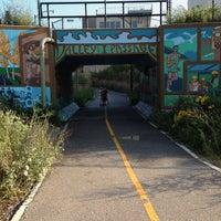 Photo taken at Urban Ecology Center Menomonee Valley Branch by Clarice M. on 9/20/2014