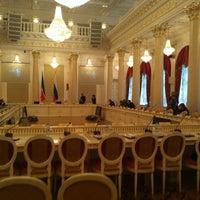 Photo taken at Казанская ратуша by Наталья К. on 2/11/2013