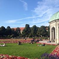 Photo taken at Hofgarten by Viktoria E. on 9/16/2012