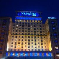 Снимок сделан в Гостиница «Украина» пользователем Katya K. 2/27/2013