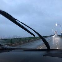 Photo taken at Sault Sainte Marie International Bridge by Nathan S. on 4/21/2017