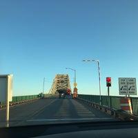 Photo taken at Sault Sainte Marie International Bridge by Nathan S. on 7/4/2017