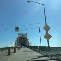Photo taken at Sault Sainte Marie International Bridge by Nathan S. on 7/24/2017