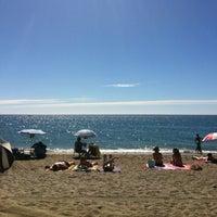 Photo taken at Bikini Beach by Marcos M. on 7/28/2013
