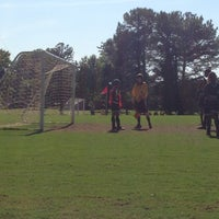 Photo taken at Patilo Soccer Park by Dani C. on 5/12/2013