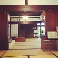Photo taken at 旧鐙屋 by Miki M. on 8/2/2013