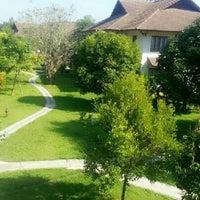 Photo taken at Teak Garden Villa And Spa Chiang Rai by Unlimitedheart on 12/21/2012