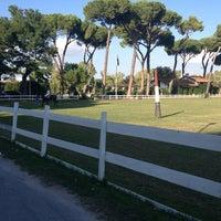 Photo taken at Roma Polo Club by Ulyana K. on 9/26/2013