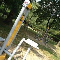 Photo taken at Herkules Outdoor Gym by Ania N. on 7/31/2013