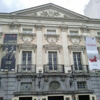Photo taken at Teatro Español by Mario A. on 10/18/2012